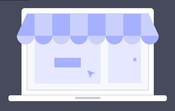 Offline and online user journeys